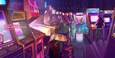 arcade  ultra hd wallpaper background image