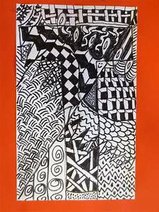 Cover Letters With No Experience Zilker Elementary Art Class Zentangle Letter Designs