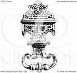 Door Knocker Retro Illustration Clipart Coloring Vector Prawny Royalty Template sketch template