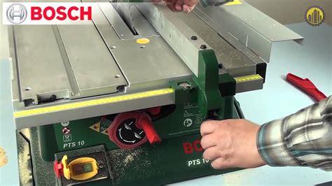 Bosch Pts 10 Trendy Pila Stoowa Tarczowa Formatowa Bosch