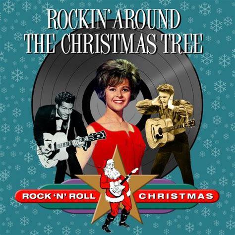 various artists rockin around the christmas tree rock
