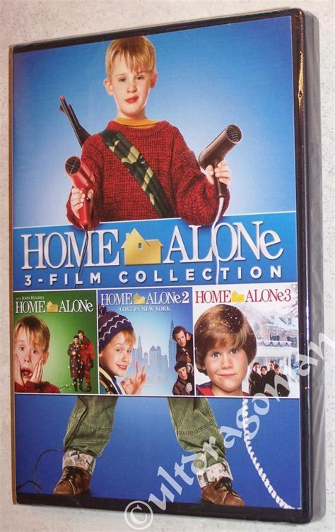 Home Alone Collection 1 2 & 3  Dvd Digital Macauley Culkin  Home, Home Alone And Christmas Movies