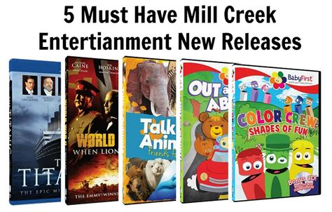releases  mill creek entertainment