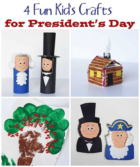 presidents day preschool crafts 4 crafts for presidents day crafts by amanda 747