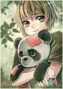 Anime Panda Girl Drawing