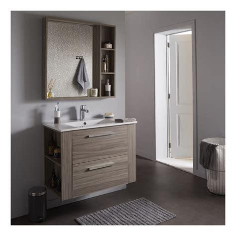 soldes salle de bains ensemble meuble de salle de bain miroir couleur olme gris salle de bain wc