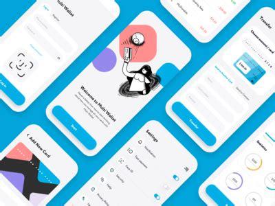 dashboard overview logo design tutorial banking app