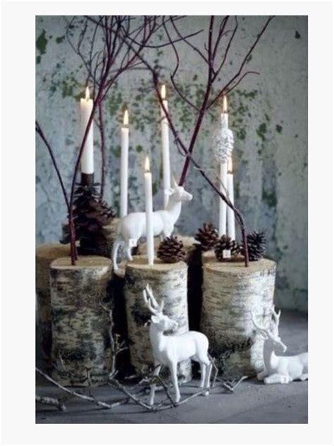 woodland christmas christmas decor ideas pinterest