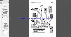 Sennebogen Operation 835-0-611 Parts Manual