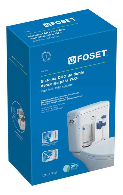 Details & free returns return this item for free. Juego De Accesorios Para Wc Con Sistema Duo Foset 49605 - $ 295.00 en Mercado Libre