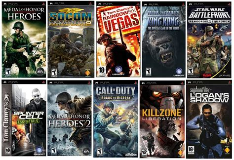 Top 10 Psp Shooter Games Of All Time