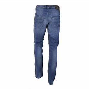 Jean Diesel Homme Slim : jean bleu d lav regular slim carrot krayver r0j36 stretch ~ Melissatoandfro.com Idées de Décoration