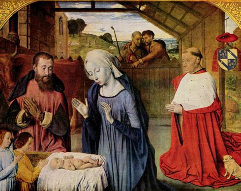 le si鑒e de the nativity c 1490 jean hey wikiart org