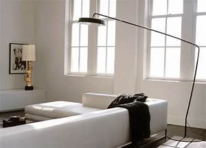 55 modern floor lamps with dazzling charm With sectional sofa lighting ideas