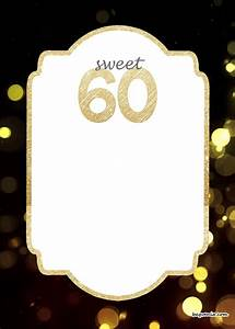 Online 50th Birthday Invitations Free Printable 60th Birthday Invitation Templates 60th