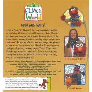 Sesame Street Elmo World Wild West