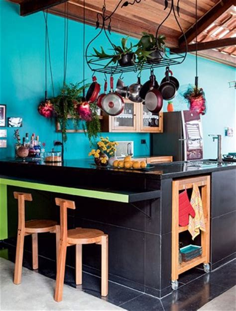 peinture cuisine bleu la cuisine bleu on l 39 adore deco cool