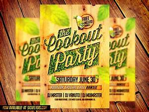 Cookout Party Flyer Template By Industrykidz On Deviantart