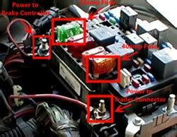 2006 Gmc Trailer Wiring by Troubleshooting Brake Controller On 2002 Gmc 2500