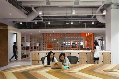 Office Singapore Airbnb Officelovin Space Tweet Interactive