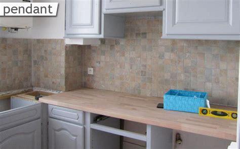 renovation plan de travail cuisine rénover sa cuisine le du bois