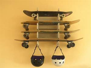 6 easy steps how to make a skateboard rack for Longboard template maker