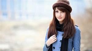 Korean Cute Girl Wallpaper