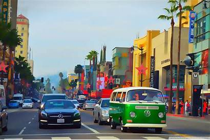 Hollywood Blvd Boulevard 4k Wallpapers Softened Took