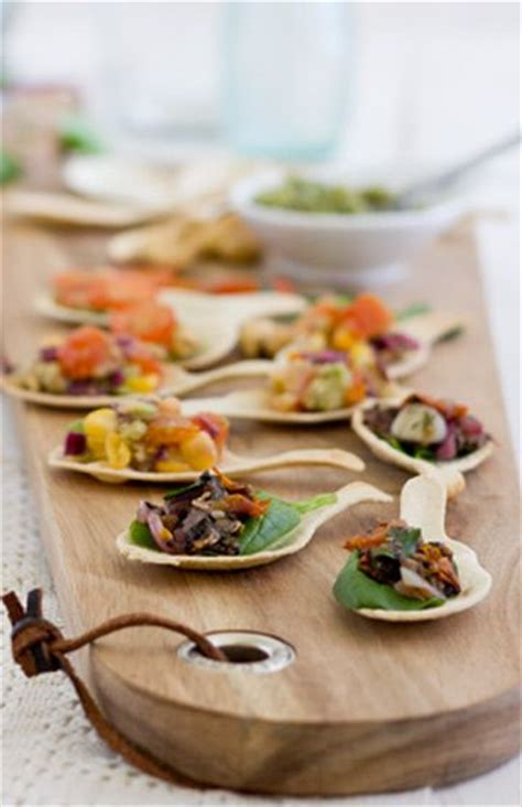 canapes on spoons recipes 104 best images about canape on bacon wrapped water chestnuts crispy baked ravioli