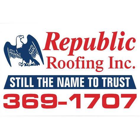Republic Roofing, Inc  Posts Facebook