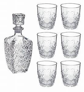Bormioli Rocco Gläser : bormioli whisky set dedalo aus glas 7 teilig f llmenge karaffe 0 78 l f llmenge gl ser 260 ~ Whattoseeinmadrid.com Haus und Dekorationen