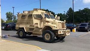 Bay County sheriff gets military vehicle - YouTube