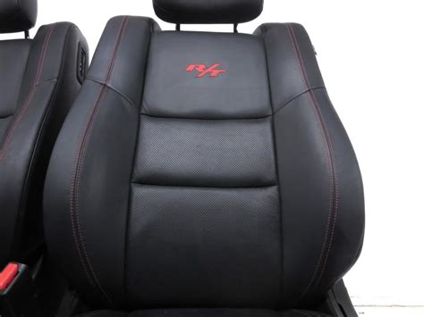 replacement dodge durango rt leather front seats