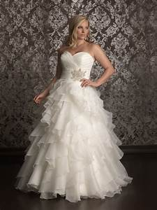 20 affordable plus size wedding dresses for women 2016 for Womens wedding dresses