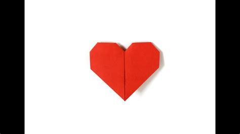 fold heart  easy      paper heart
