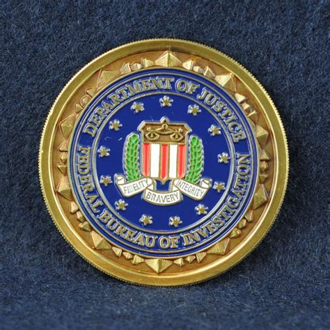 federal bureau of investigation fbi challengecoins ca