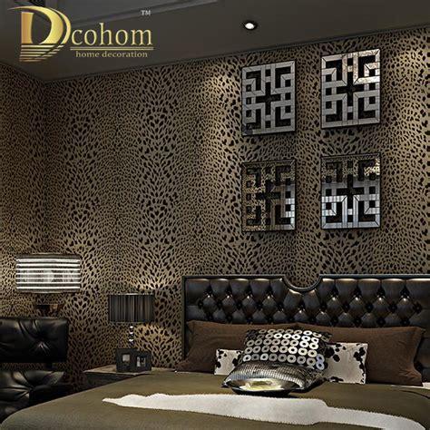 chambre leopard achetez en gros léopard papier peint en ligne à des