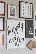 Cheap Wall Canvas Prints Idea DIY Home Decor Idea Learn How To Create A Gorgeous Script Art Canvas