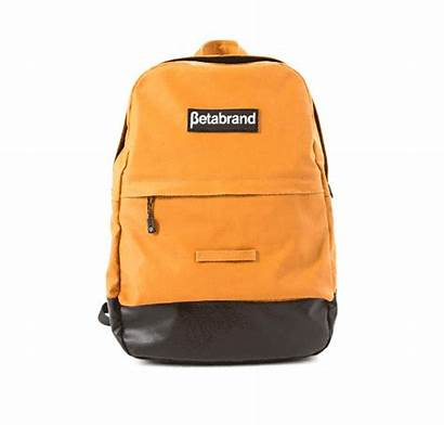 Betabrand Daypack Yellow Backpack Resistant Water Mustard