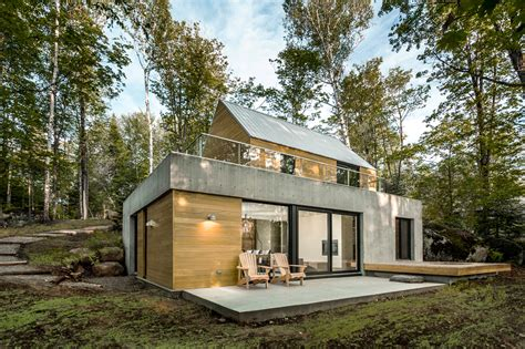 A Modern House In Nature
