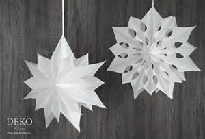 Papiersterne Falten Anleitung Kostenlos : diy gro e weihnachtssterne aus brotpapiert ten deko kitchen ~ Buech-reservation.com Haus und Dekorationen