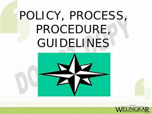 Quotes About Policies And Procedures  Quotesgram