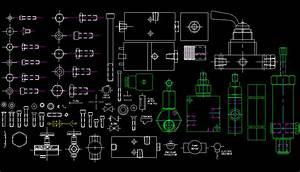 Bloques AutoCAD Gratis Librerias de tornillería y mecánica industrial