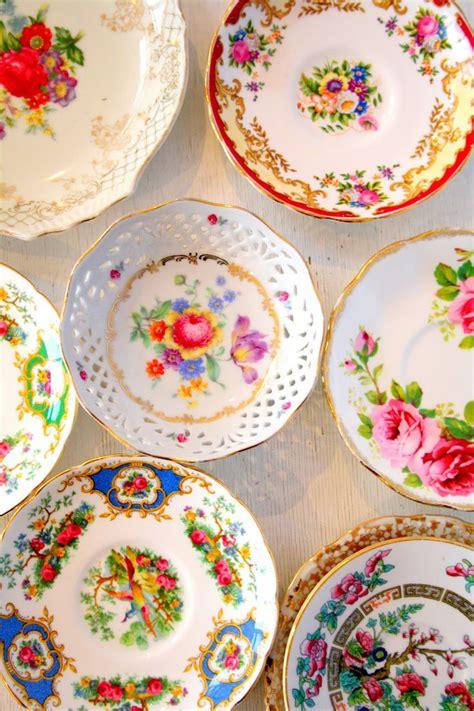 vintage cuisine vintage plates decorative dishes