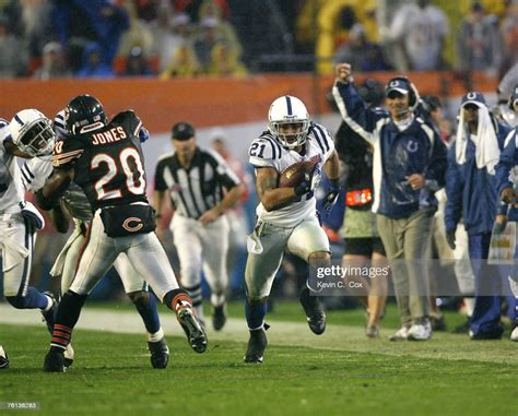 Bob Sanders Of The Indianapolis Colts During Super Bowl