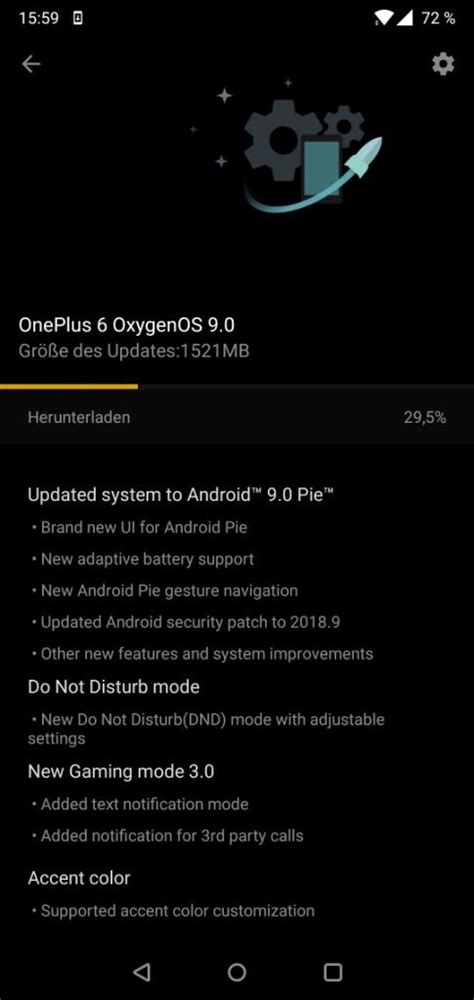oneplus 6 oxygenos 9 0 android 9 0 pie stable update starts rolling out
