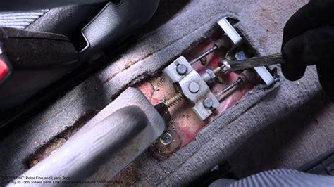 How to adjust and setup hand brake Honda Civic. Years 1992 ...