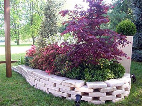 mattoni in cemento per giardino aiuole da giardino unico mattoni tufo per giardino mattone