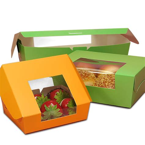 Wrap Around Window Bakery Boxes