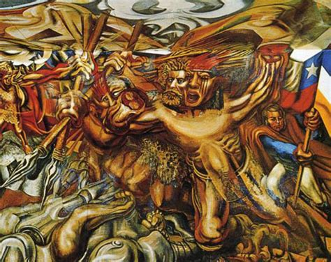 David Alfaro Siqueiros Murals by Kqed Let S Get Lost New Deal Murals